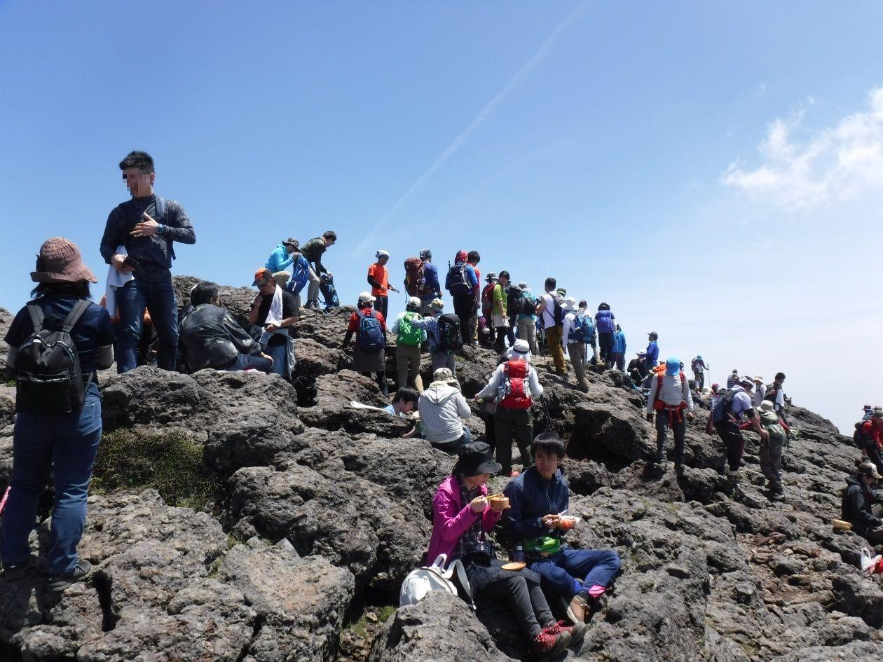 韓国岳山頂(イメージ)