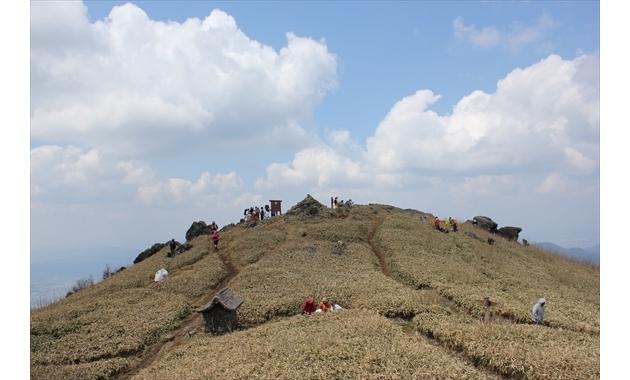 福智山山頂(イメージ)