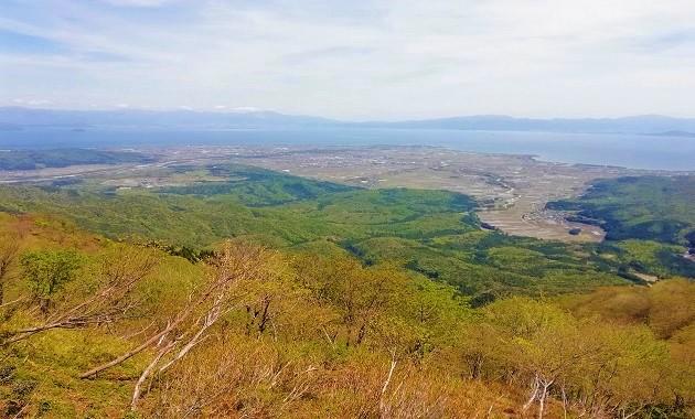 蛇谷ガ峰から琵琶湖を望む(写真提供:びわ湖高島観光協会 様)