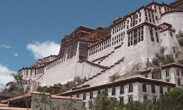 チベット・ラサのポタラ宮(イメージ)