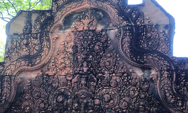 バンテアイスレイの精緻な彫刻(イメージ)