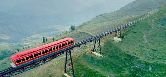 ムオンホア登山鉄道(イメージ)