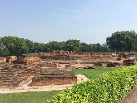 仏教4大聖地の一つ、サールナート(イメージ)