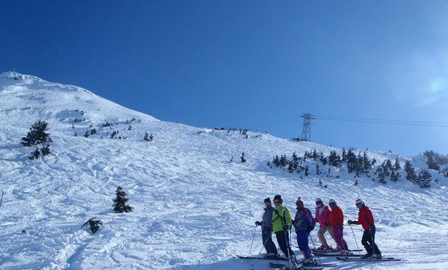 氷河スキー(イメージ)