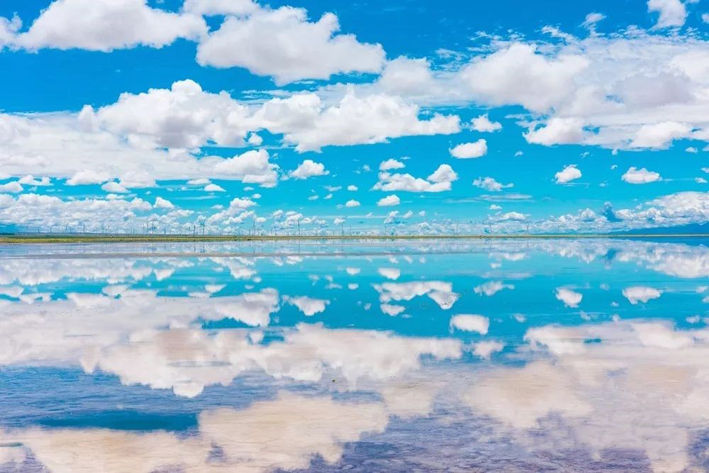 天空の鏡 チャカ湖