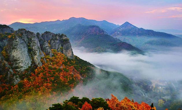 周王山からの眺望(イメージ)