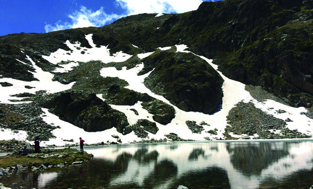 ムサラの山上湖(イメージ)
