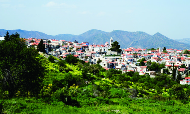 キプロス島 レフカラ村<br>(©A.Lorenzetto)