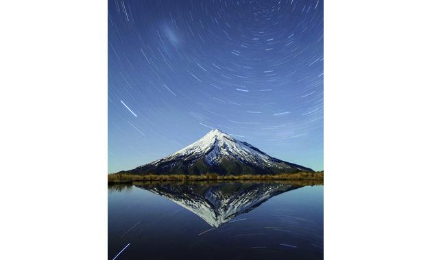 ニュージーランド富士ことタラナキ山(イメージ)